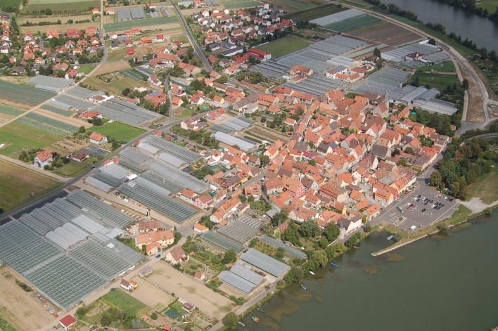 Luftaufnahme Segnitz